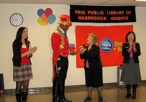 NJ Library Champion given keys to the city!