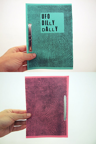 Zine: UFO Dilly Dally - Cover II