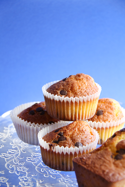 Muffin Arancia e Cioccolato