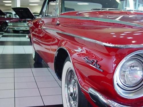 1962 Plymouth Fury Red Cv 032