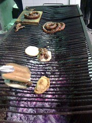 La torta de chorizo Uruguayo (jorgeavilam) Tags: mexico monterrey torta empanada asador rayados estadiotec chorizouruguayo