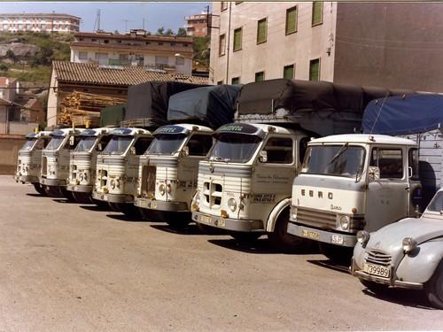 Pegasos de l'empresa COTXARRERA de Gironella (Berguedà)