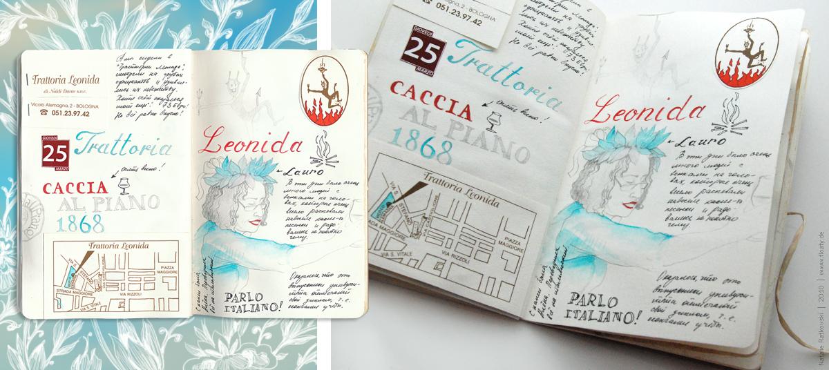 Bologna travel book 15