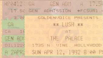 Lush, the Palace