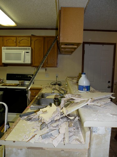 Removing Cabinets Amp A Wall