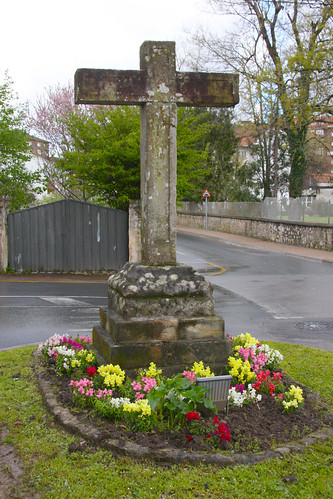 Flowered Cross