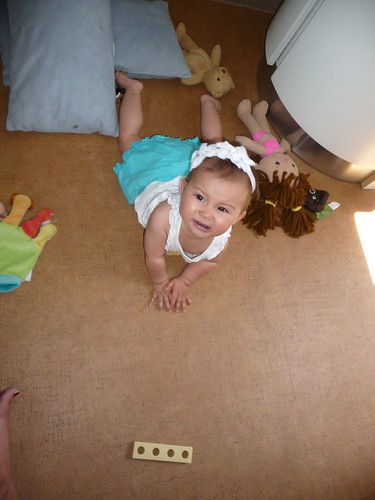 trying to crawl.