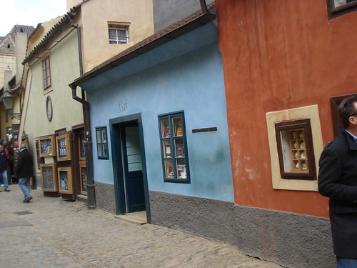 The golden lane - Prague