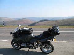 A5 horseshoe pass  Llangollen (holloway steve) Tags: wales canon weekend a620 bmwr1100s boxertrix