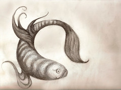 Fish Drawing - Avia Venefica