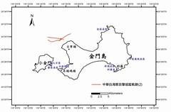 金門中華白海豚生態現況-03(目擊追蹤軌跡)