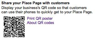Google QR Printable Poster