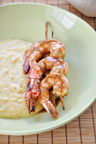 Rum Glazed Shrimp