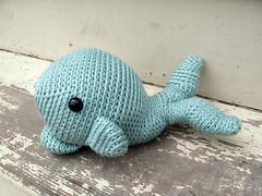 Oh, Mr. Whale! (freshstitches) Tags: blue stuffed crochet plush kawaii whale amigurumi
