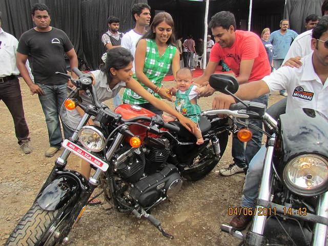 """Park Titanium Harley Fest"" at Park Street Wakad Pune IMG_3190"