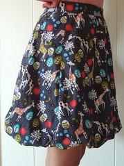 giraffe bubble skirt 1
