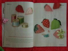 Mollie Makes Vintage Strawberry how-to
