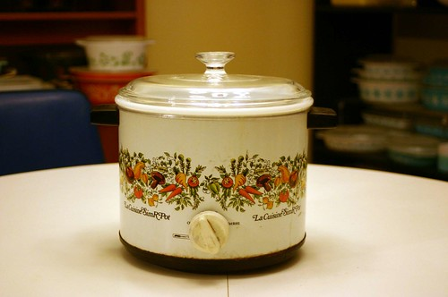 Vintage Kmart Spice of Life Coordinate Slow Cooker Crock Pot