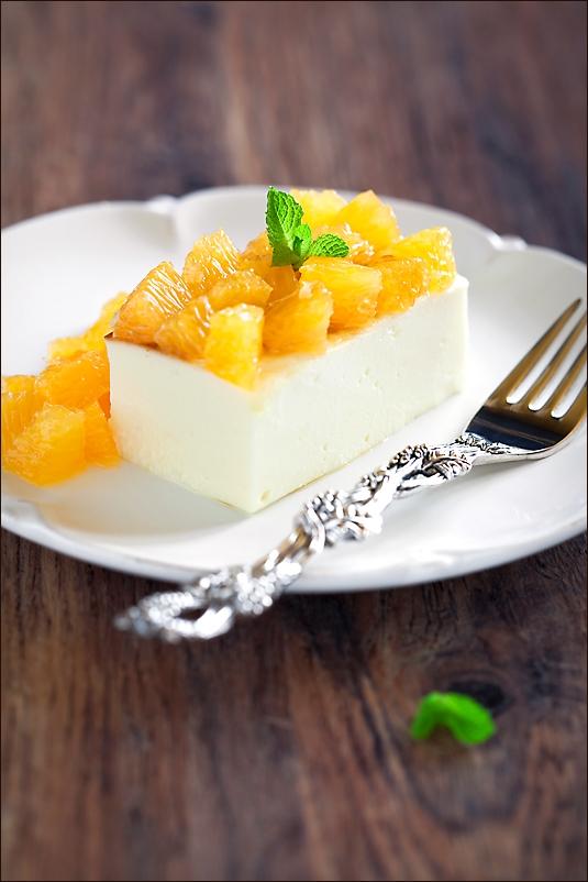 Cream cheese pudding