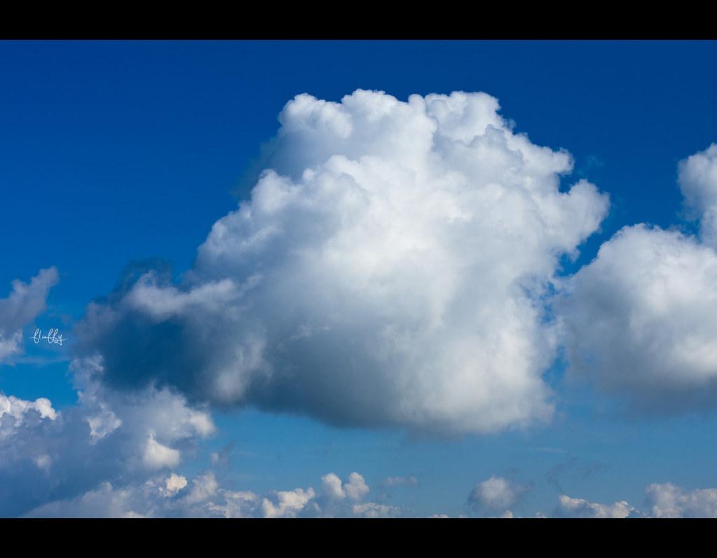 Project 365, Day 311, 311/365, Sigma 50mm F1.4 EX DG HSM, 50 mm, cloud, blue sky, fluffy,