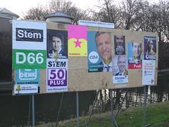 Election Posters in Utrecht (harry_nl) Tags: netherlands nederland 2017 utrecht elections verkiezingen parliament political parties politieke partij tweedekamer