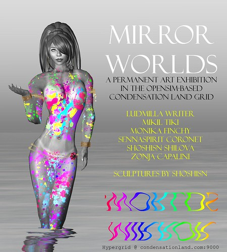 0690 - Mirror Worlds - A permanent art exhibition in Opensim