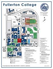 Fullerton Collge Map