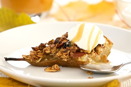 Roasted Pear Crisp