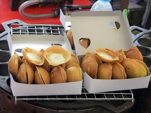 Kanom Krok: Crispy Coconut Pudding