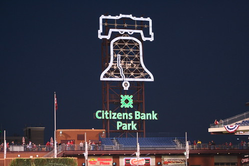 Liberty Bell at Citizens Bank Park by pvsbond.