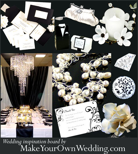 Black_White_Wedding_Ideas por Make Your Own Wedding.