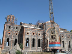 Armenia-Gyumri, ruins church