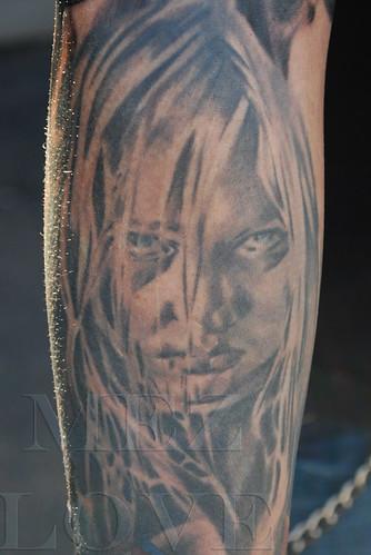 Halloween Kid Tattoo