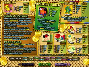 free Jackpot Pinatas slot mini symbol