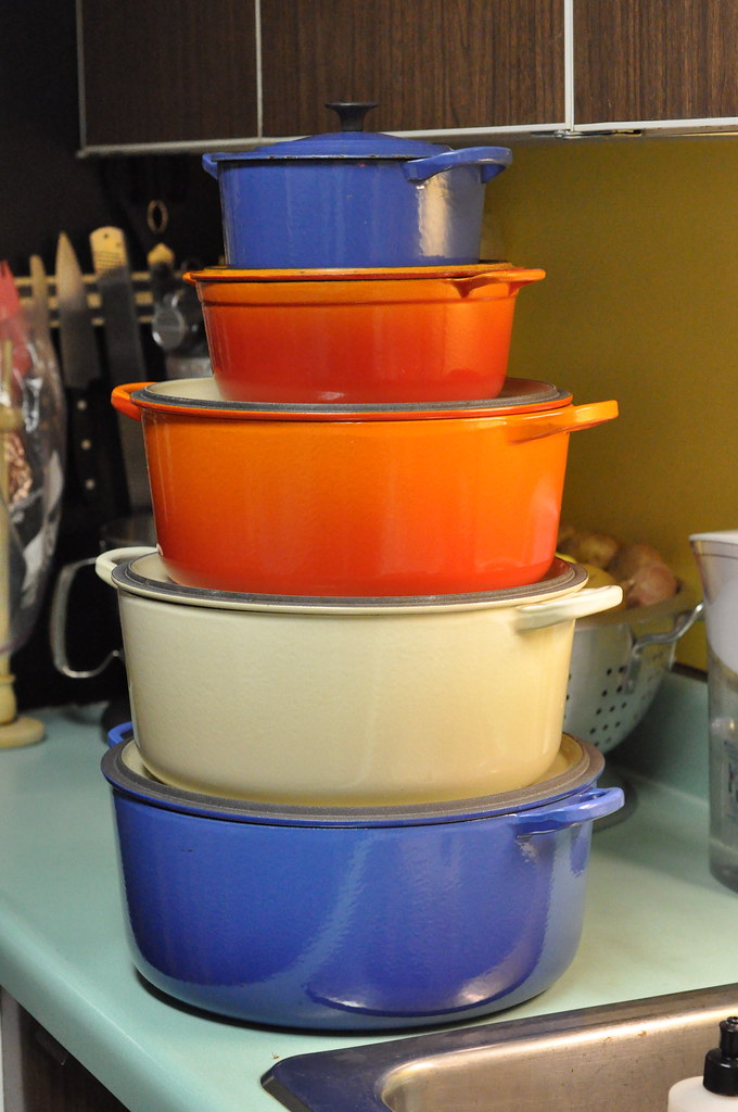 Le Creuset tower
