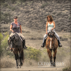 cowgirls (Kris Kros) Tags: ladies horse photoshop kris cowgirl kkg cs4 photomatix kros kriskros 5xp kkgallery