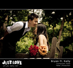 .will you marry me? ( Peter Nguyen) Tags: weeding 50mmf18 singaporebotanicgarden d80