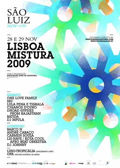 Lisboa Mistura - Cartaz