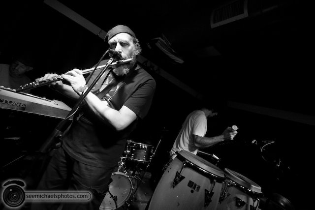 Seesaw Ensemble at the Soda Bar 111909 © Michael Klayman-038