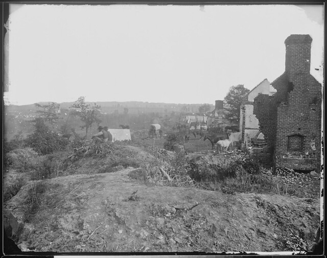 Confederate works at Mayres Heights Fredericksburg Va by The US National Archives