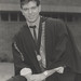 Michael Hensley with the University Medal awarded to him, the University of Newcastle, Australia