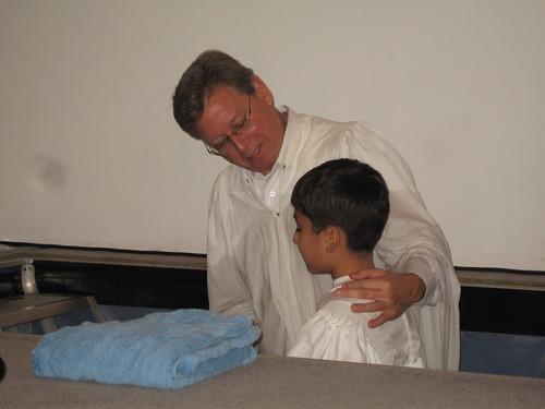 kalev's baptism