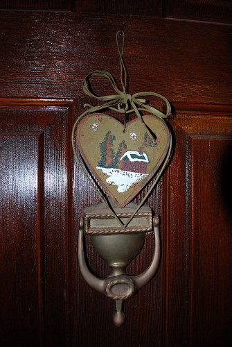 ornament and door knocker