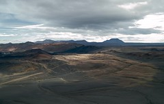 Looking towards the Myvatn nature baths from the rim of Hverfell (encephalitis) Tags: iceland sigma foveon dp2 visipix