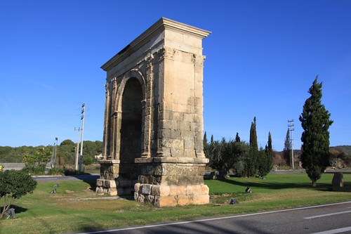 Roman structure south of Cambrils...