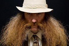 ericbrownnew (John Weisenfeld) Tags: red portrait hairy brown selfportrait man me face look hat hair beard ginger weird intense wings funny eyecontact head tie competition headshot dude redhead moustache whiskers suit odd sp fancy stare gothamist facialhair fedora 365 mustache gaze flair peer burners tweed airy dogseat beardo muttonchops basettoni gingerhair project365 sidewhiskers 365days wbmc ericharveybrown dundrearies wmbc 94365 flickr:user=dogseat hairwings beardcompetition flapwings internationalbeardcompetition internationalmoustachecompetition beardfall theworldbeardmoustachechampionships2009