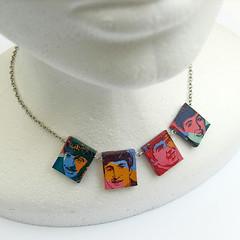 Beatles Necklace (weggart) Tags: handmade craft jewelry weggart