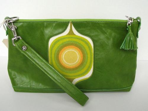 green mondo wristlet