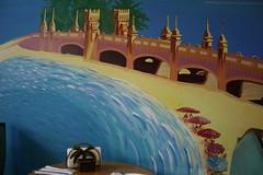 Coastside Dining (Generik11) Tags: sf blue art yellow murals foundinsf sfist gwsf muralmonday