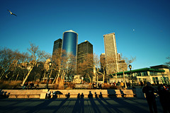 Battery Park (Johnny Hock) Tags: park nyc winter shadow downtown district battery sigma 1020 financial seaport